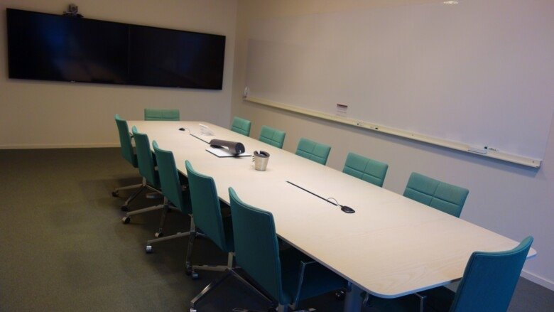 Conference room 508 in Aula Medica at KI Campus Solna
