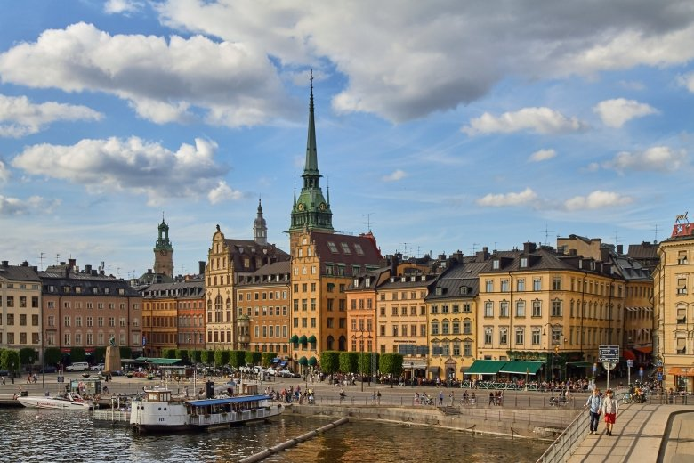 View of Stockholm Old town
